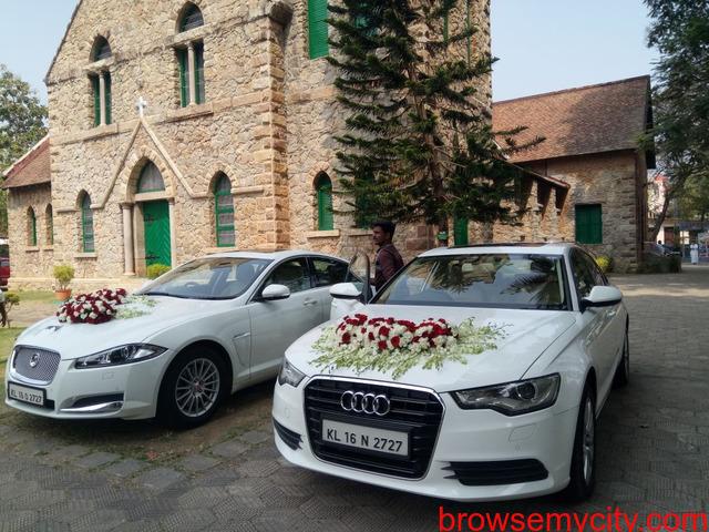 Luxury Wedding Cars for Rent in Trivandrum Kerala - 1/1