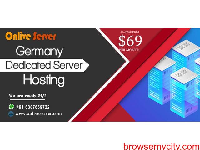 Germany Dedicated Server Hosting with Custom Firewall - 1/1