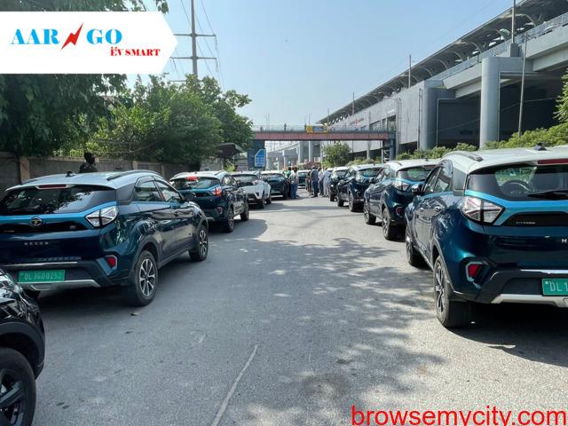 AARGO EV SMART organized GREEN DRIVE 2021 in Faridabad on 15th August, 2021 - 3/5