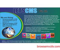PHP Developer | WordPress PHP Developer |Android ,Drupal, Laravel PHP Developer | LETSCMS Pvt. Ltd.