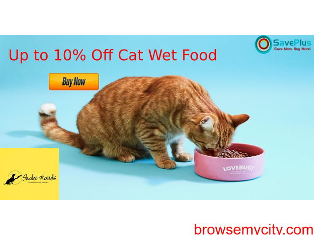 Up to 10% Off Cat Wet Food - 1/1
