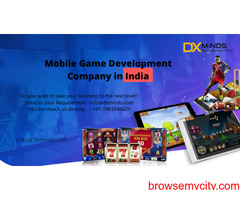 Mobile game development company in India | DxMinds