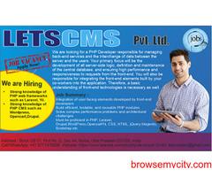 Urgent Hiring For PHP Developer | Job in Noida | PHP Development | Laravel Development | LETSCMS