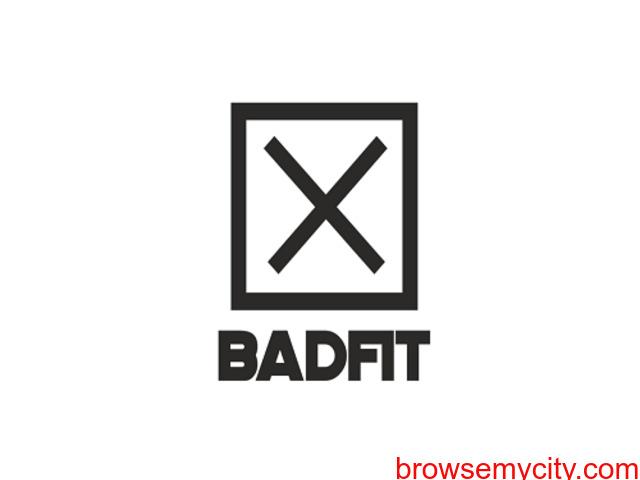 Badfit Men Black T-shirt - 2/2