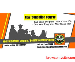 Are you looking for the best NDA Foundation course after 10 and 11?