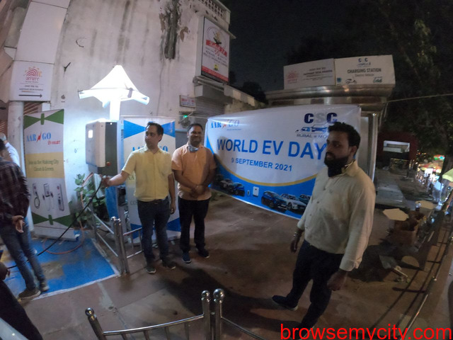 Happy World EV DAY ! AARGO EV SMART inaugurated DC Fast Charger on World EV Day at Minto Road Delhi. - 1/5