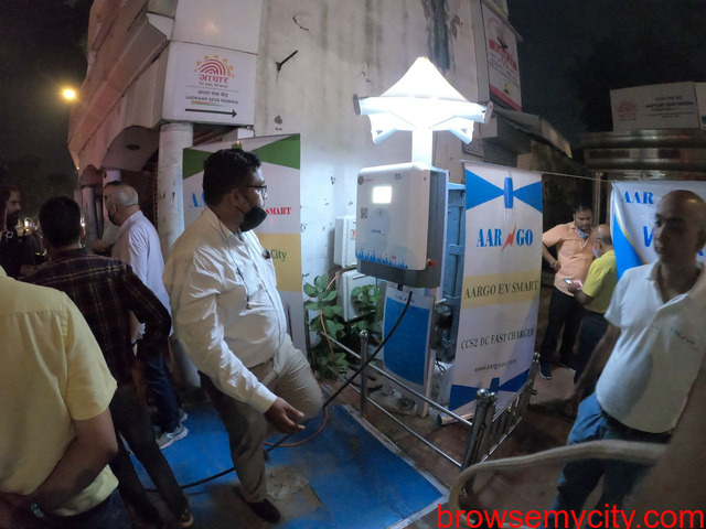 Happy World EV DAY ! AARGO EV SMART inaugurated DC Fast Charger on World EV Day at Minto Road Delhi. - 2/5