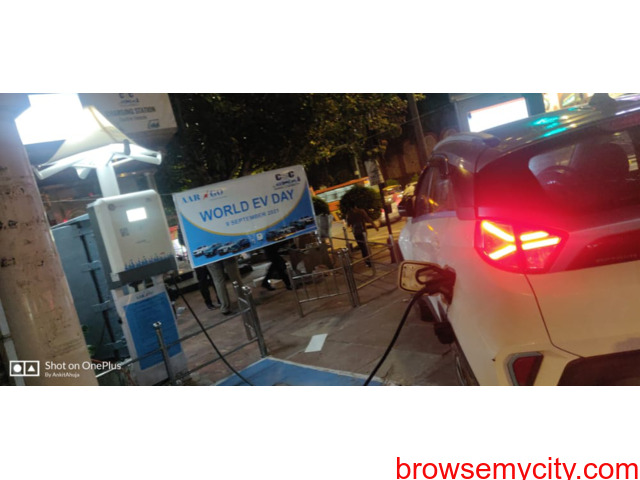 Happy World EV DAY ! AARGO EV SMART inaugurated DC Fast Charger on World EV Day at Minto Road Delhi. - 5/5