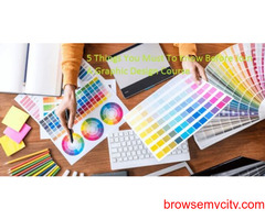 5 things you must to know before join a graphic design course