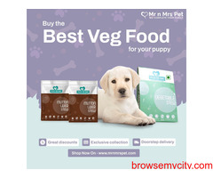 Vegetarian Dog Food For Sell in India