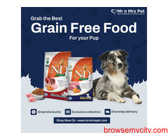 Grain-free Dog Food For Sell in India