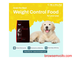 Weight Control Dog Food in India