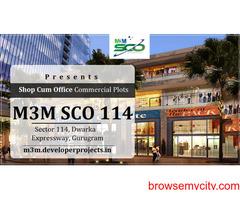 M3M SCO 114 Plots   Commercial Plots In Gurgaon