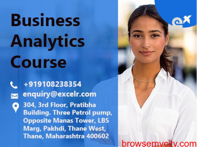 ExcelR - Business Analytics Course  In Thane - 1/1