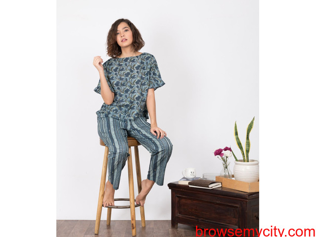 Explore wide range of womens pyjama sets online at MyClosetStory - 1/3