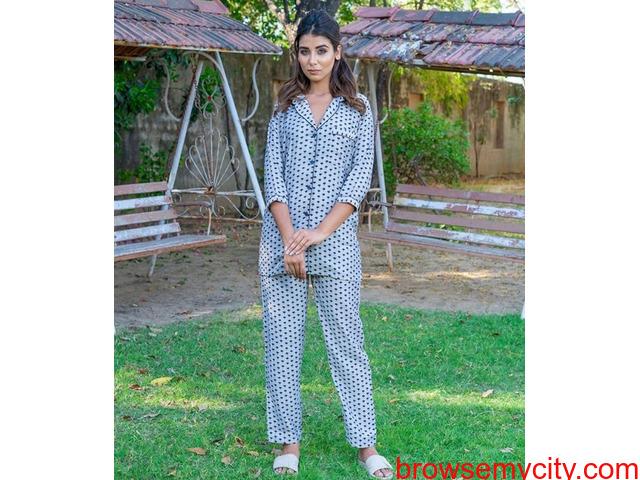 Explore wide range of womens pyjama sets online at MyClosetStory - 3/3