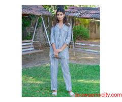 Explore wide range of womens pyjama sets online at MyClosetStory