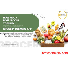 Grocery Delivery Mobile Application like Instacart in India | DxMinds