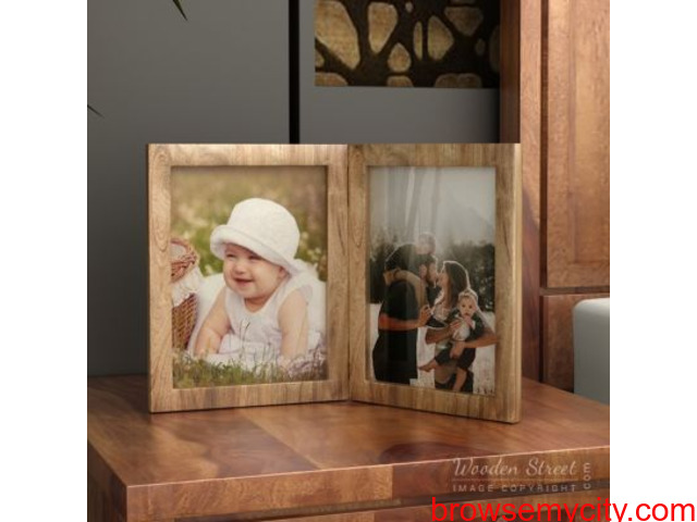 Best Photo frames online from WoodenStreet at best prices. - 1/3