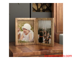 Best Photo frames online from WoodenStreet at best prices.