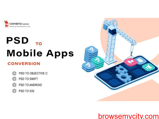 PSD to Mobile App Conversion - 1/1