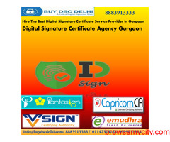 Get Digital Signature Certificate Online in Gurgaon