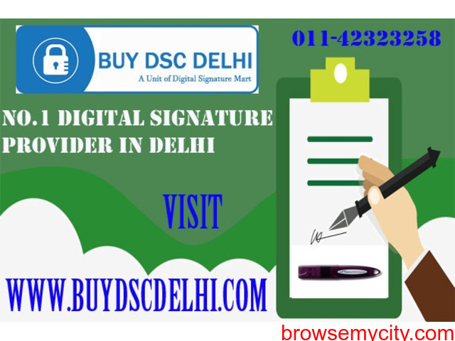 Get Digital Signature Certificate Online in Gurgaon - 2/3