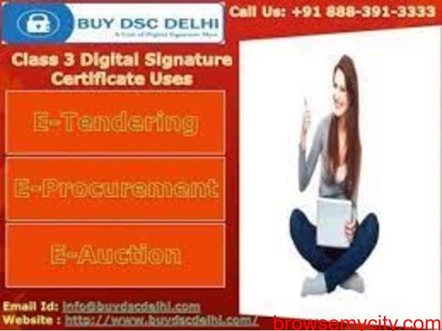 Get Digital Signature Certificate Online in Gurgaon - 3/3