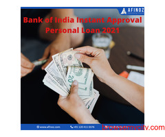 Bank of India Instant Approval Personal Loan 2021