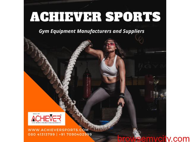 Achiever Sports – Gym Equipment Manufacturer & Maintenance - 1/1