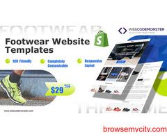 Footwear Website Templates