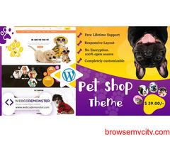 WordPress Pet Shop Theme