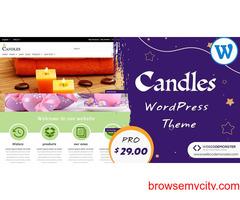 Candles WordPress Templates