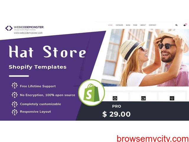 Hat Store Shopify Theme - 1/1