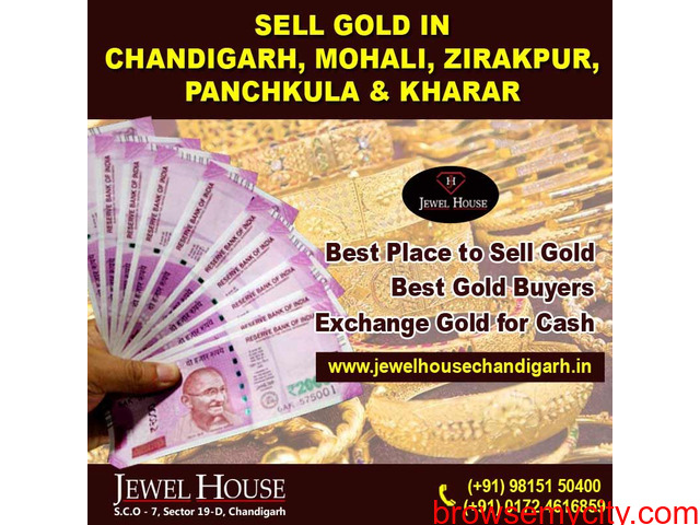 Cash for Gold in Chandigarh   Sell Gold in Chandigarh   Gold buyer in Chandigarh - 1/3