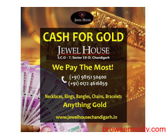 Cash for Gold in Chandigarh | Sell Gold in Chandigarh | Gold buyer in Chandigarh