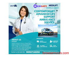 Medilift Ambulance Service in Hazaribagh- Skilled Doctors
