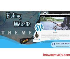 Free Fishing WordPress Theme