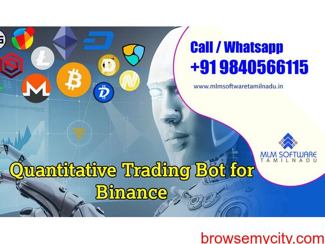 Quantitative Trading Bot For Binance - 1/1