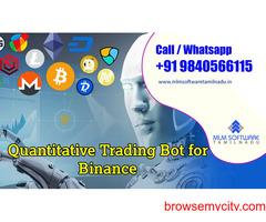 Quantitative Trading Bot For Binance