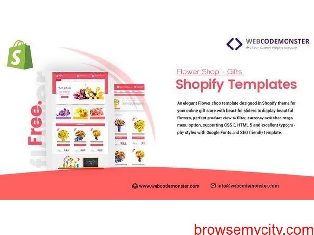 Flower Shop Shopify Theme - 1/1