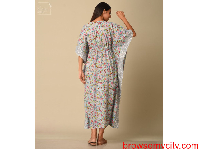 Shop Kaftans at best prices online in India from MyClosetStory - 2/3