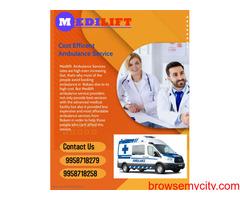 Get Reasonable Ambulance Service in Kasba by Medilift