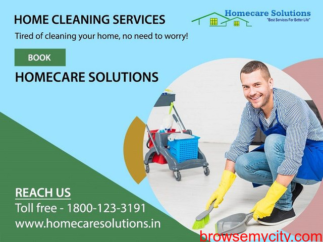 HomecareSolutions- Home, Office, Kitchen, Bathroom, Sofa, Deep Home Cleaning Services in Bangalore - 2/2