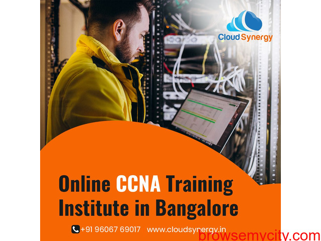 CCNA Coaching in Bangalore - Cloudsynergy - 1/1