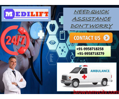 Medilift Road Ambulance Service in Samastipur-Get All Advantages at Low Cost