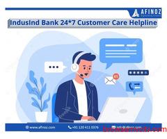 IndusInd Bank 24*7 Customer Care Instant Helpline 2021