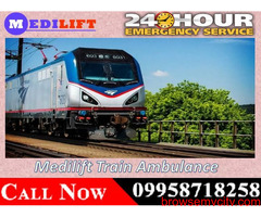 Get Delhi Train Ambulance Service at Low Budget with Medical Team