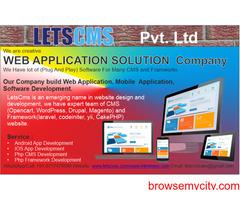 Software & Web Application Development Company | LETSCMS Pvt. Ltd.