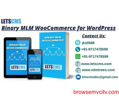 Binary Multi Level Marketing Plan for WordPress - LETSCMS Pvt. Ltd.